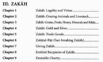 Zakaat - Al-Mulakhas al-Fiqhi of Sheikh Saaleh al-Fawzaan