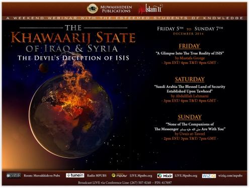 The Khawaarij state of Iraq and Syria