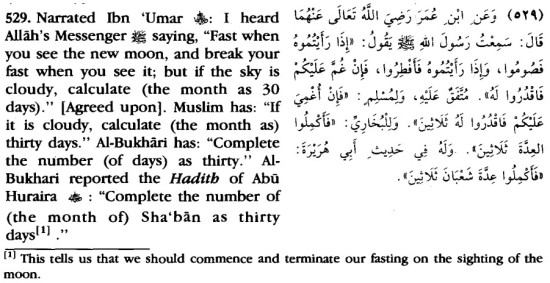 Moon Sighting - Hilal of Ramadan - Hilal of Shawwal